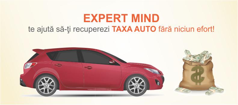 EXPERT MIND te ajută să îţi recuperezi taxa auto