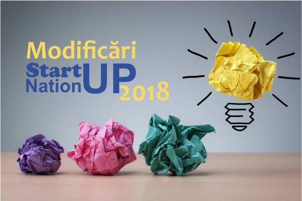 Afla care sunt principalele modificari ale programului Start-up Nation 2018