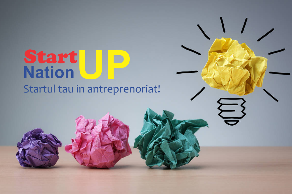 Start-up nation, STARTul tau in antreprenoriat