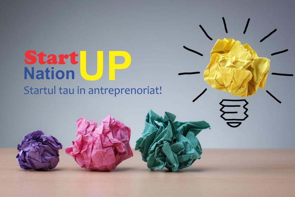 Start-up nation, STARTul tau in antreprenoriat